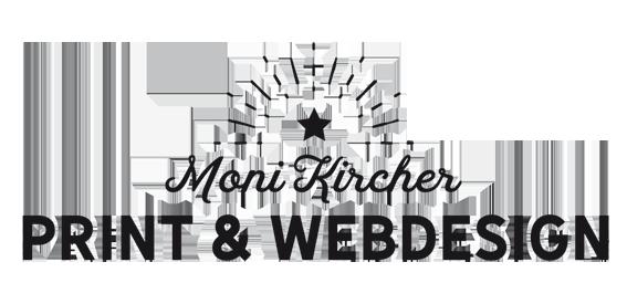 PRINT & WEBDESIGN Moni Kircher