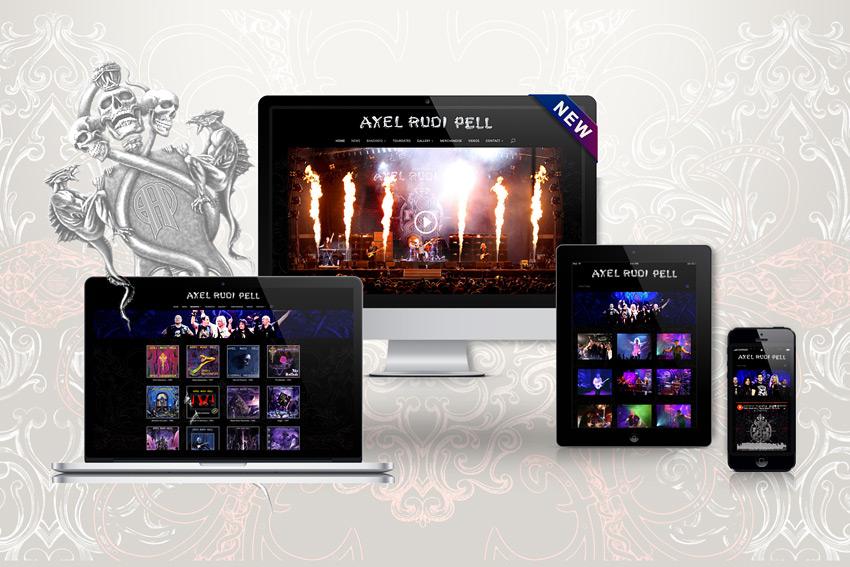 Webseite für Axel Rudi Pell